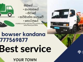 Gully bowser service  kandana   0777569877