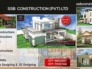 Apartments & Housing Construction - S S B Construction (Pvt) Ltd.