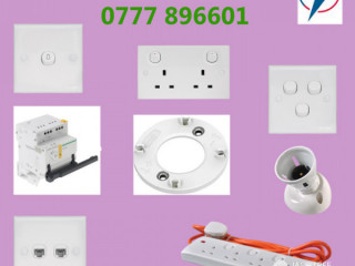 Electrical Accessories Suppliers in Sri Lanka.- Listec Holdings (Pvt) Ltd
