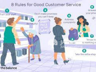 Customer Services Rep for good work
