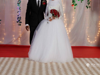 Beautiful brides wear