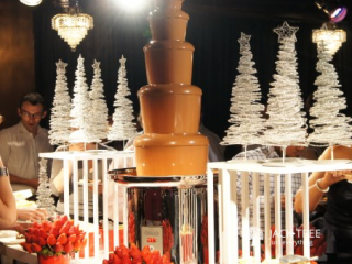 Fountain Large 200 guests + Free white choco fountain