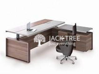 New L shape office table 5.54ft