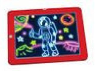 SketchpadTablet Creative Kids Pen Gift LedsLights Glow Art Drawing Toys