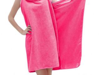 Shopo's Women Microfiber Wearable Bath Wrap Beach Towel Dress Bat