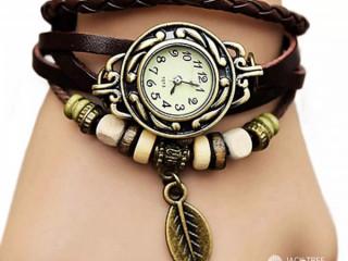 Women Bracelet Watch with Box/braided strap design / in sri lanka