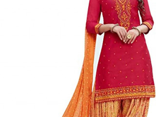 Shalwar/Heavy Net with Embroidery work + Cording Work + Stone