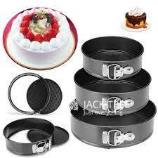 3-pcs-cake-baking-mould-tray-round-shape-high-temperature-big-0