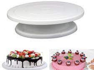 Cake Decorating Turntable his turntable allows you to easily