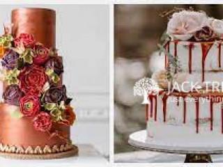 Wedding Cakes -- many decorations Wedding cakes call me