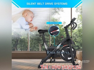Luxury Spin Bike for Home Use Super Steady & Safety Exercise Bike