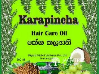 කරපිංචා & බුලත් hair Oil (Piyara Global Ventures)