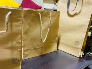 Hand Made Paper Bags Made in Sri Lanka
