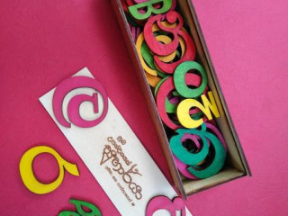 Eco Friendly Hand Painted Wooden Alphabet Pack