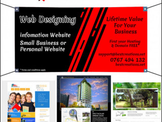 Website Designing for all business categories