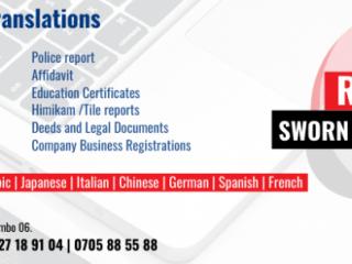 Sworn Translators පරිවර්තන All  translation needs in one place