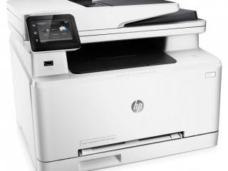 HP Color LaserJet pro mfp277dw printer white