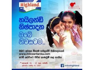 Highland milk