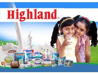 Highland delivery to your doorstep, අවශ්ය හයිලන්ඩ් නිෂ්පාදන  මාලඹේ