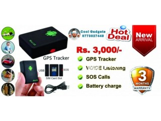 GPS Tracker + Voice Listening + SOS Call + Battery Life
