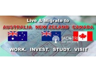 Immigration Australia Canada New Zealand Skill Migrant points System