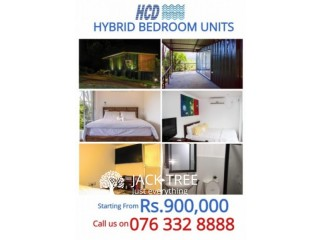 Hybrid Container Rooms