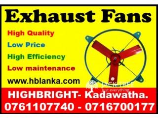 Hot air Exhaust fans srilanka