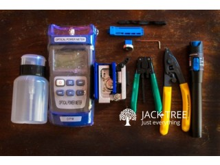 Ftth Fiber Optic Tool Kit With FC-6S Fiber Cleaver And Power Meter