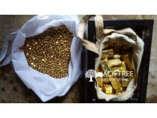 Gold bars , nuggets and dust for sale