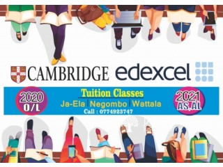 Cambridge and Edxcel Tuition Classes