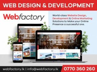 Creative Web Design company in Sri Lanka Web Factory