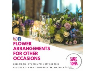 Sure Topia Flowers - Flowers for all types of events.