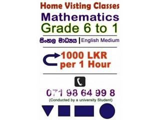 Mathematics Grade 6 to 11