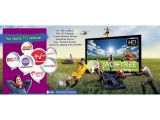 Dish tv videocond2h sundirect recharge