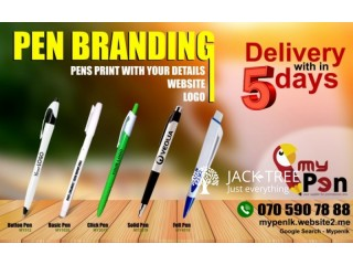 Pen Printing & Engraving