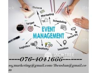 Promotion, event, management