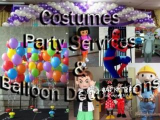Mascots (costumes)/decorations/Event management