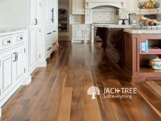 HDF laminated flooring