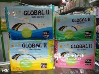 Global ll Diapers (30pcs)