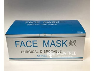 Disposable 3ply Surgical Face Masks