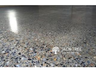 Concrete Cut Polish and Power Trowel