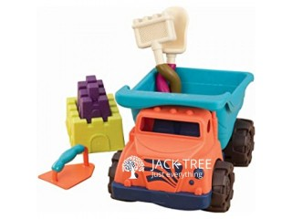 Toy Dump Truck with Funky Sand Toys for sale