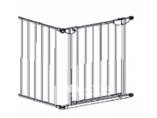 Child safety fence with door Safe & Care