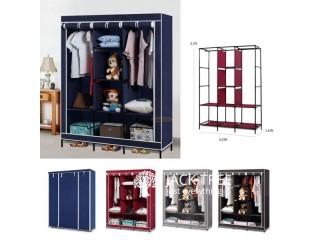 3 Door Wardrobe Zip Cupboard