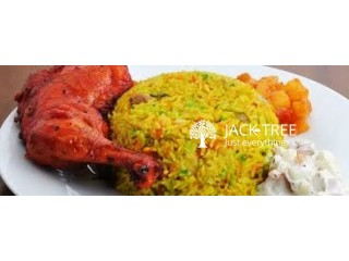 BBQ Chicken Biriyani Home Delivery Available