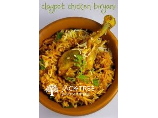 Clay Pot Chicken Biriyani