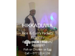 CATERING FOR ANY OCCASION - HIKKADUWA