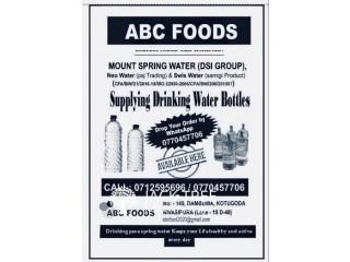 DRINKING WATER - KOTUGODA