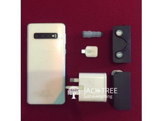 SAMSUNG GALAXY S10 PRISM WHITE - USED