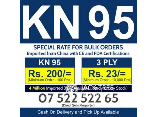 Imported KN95 & 3Ply Available